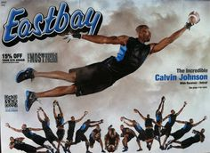 Calvin Johnson, Eastbay