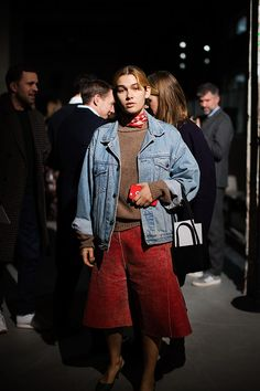 The Sartorialist / At the Shows, Paris