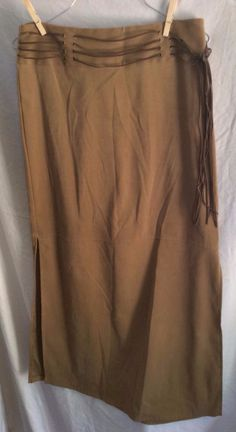 Tracy Evans Limited long boho hippy western cowgirl skirt size 7 beige   #TracyEvans #ALine