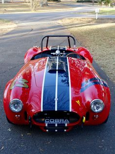 Vintage Cars Bid for the chance to own a 1965 Shelby Cobra at auction with Bring a Trailer, the home of the best vintage and classic cars online. Ford Shelby Cobra, Ford Mustang Cobra, Ac Cobra, 1973 Mustang, Ford Classic Cars, Best Classic Cars, Classic Cars Online, Sexy Cars, Hot Cars