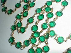 necklace swarovski crystals vintage by qualityvintagejewels, $88.00