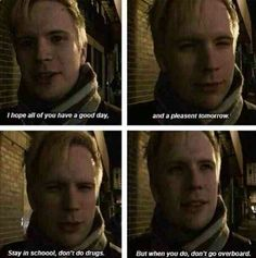 Wose words from Mr. Patrick Vaugh Stump, everybody