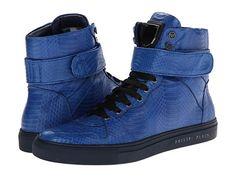 the latest a280e ed878 Philipp Plein In Love Sneakers Middle Blue - Zappos Couture Turnschuhe,  Freundinnen, Schuhe Turnschuhe