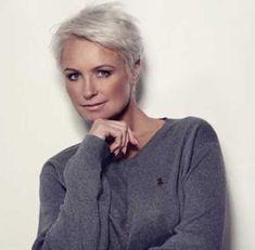 15 Hairstyles For Short Grey Hair | http://www.short-haircut.com/15-hairstyles-for-short-grey-hair.html
