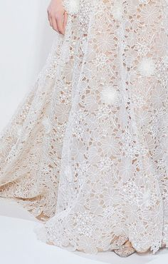 lace Valentino wedding gown