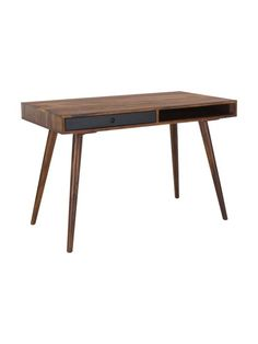 Schreibtisch Repa aus Massivholz | WestwingNow Home Office, Dining Bench, Living Room, Interior, Design, Furniture, Home Decor, Office Furniture, Wooden Desk