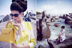 Boulders Beach | The TATLER edition! Yaaay Boulder Beach, Most Beautiful Cities, Gaia, Cape Town, Bouldering, Longchamp, Editorial Fashion, Cover Up, Tote Bag