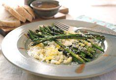 Arctic Garden Studio: Asparagus with Egg, Parmesan, and Lemon