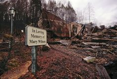 <p>Smoke rises from the remains of the Alamo Steak House Wednesday, Nov. 30, 2016, in Gatlinburg, Tenn., after a wildfire swept through the area Monday. (AP Photo/Mark Humphrey) </p>