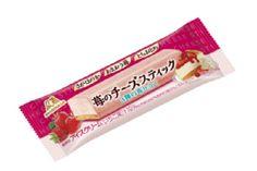 【3種の苺仕立て】森永製菓「苺のチーズスティック」新発売!   今週発売の新作アイスです♪ #森永製菓 #チーズスティック #コンビニアイス #苺 #いちご #イチゴ