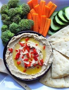 Spiced Caribbean Hummus! A dairy-free recipe for the @sodelicious recipe contest