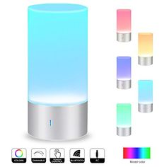 $24.99  -- Visit the image link more details. (This is an affiliate link) Touch Table Lamps, Bedside Table Lamps, Bedroom Lamps, Desk Lamp, Mood Lamps, Speakers For Sale, Lamps For Sale, Office Lighting, Desk Light