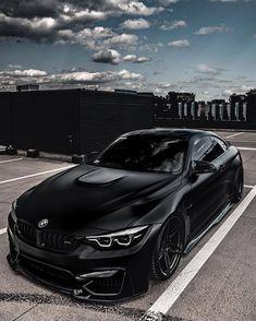 Bmw M3 Black, Matte Black Bmw, Bmw M4 Cabrio, Bmw E34, Luxury Car Brands, Top Luxury Cars, Bmw Sport, Sport Cars, Bmw Scrambler
