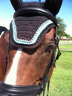 Single BLING Horse Fly Bonnet by ImperialBonnets on Etsy