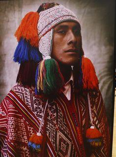 Peruvian native dress, Andes region