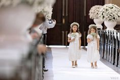 It Girl: Caroline Trentini on Her Wedding Day