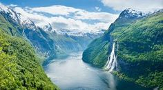 Norway - Seven Sisters waterfall
