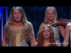 """Celtic Woman - """"Walk On""""   Mairead Nesbitt (Top), Lisa Kelly (Right), Chloe Agnew (Left (my favorite!)), and Lisa Lambe (Front).  This song has brought me a lot of comfort  . . ."""