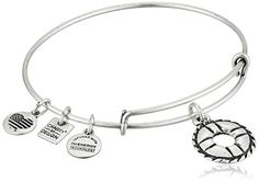 Alex and Ani Charity By Design Life Preserver Rafaelian Silver Bangle Bracelet ** To view further for this item, visit the image link.(This is an Amazon affiliate link)
