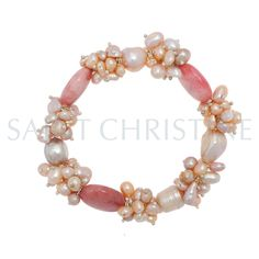 Christmas gift! Freshwater pearl necklace at www.saintchristine.com