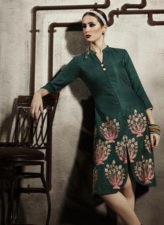 Simplistic Green Pashmina Kurti In Wholesale #wholesale #suratwholesaleshop #uk #kurtis #trendy #work #exotic #usa #fashionable #lovely #onlineshopping #shopping #festive #pashmina #diwalioffers #dhanteras #partywear #bulksupplier #manufacturer #designer #receptionwear #officewear #versatile #fabulous #desiclothing #www.suratwholesaleshop.com