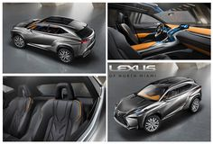 Lexus LF NX crossover - more pics to come from the Frankfurt Auto Show!