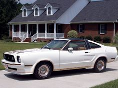 1978 Mustang King Cobra Just like one I had in Red in 1980