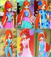 Image result for all of bloom's outfits