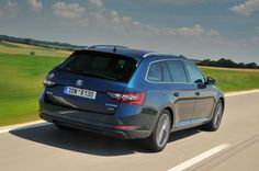 Wagon version of Skoda's cut-price limo is relaxing to drive, vast inside and great value, provided you avoid the range-topper One Drive, First Drive, Station Wagon, 4x4, Vehicles, Reflection, Sketch, Trucks, Cars