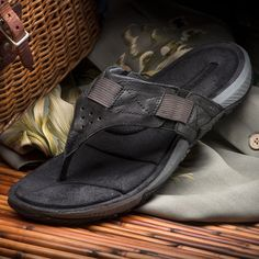 best loved 5bb62 edbe6 Stick With Merrell for Tenacious Traction and All-Day Comfort mdash  Stylish Leather Sandals That Look as Good as They Feel!