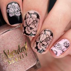 Nail Polish Society>> UberChic Beauty Collection 9 Stamping Plates Review