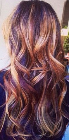Kinda feel like this is what my hair could look like with some balayage highlights.