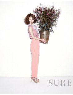 lee yeon hee for elle korea