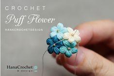 Visit the post for more. Diy Crochet Rose, Crochet Puff Flower, Crochet Flowers, Crochet Hook Sizes, Thread Crochet, Crochet Hooks, Flower Patterns, Crochet Patterns, Crochet Ideas