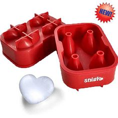 SNIGLE SILICONE ICE/CHOCOLATE MOLDS, 3D HEART MAKER ★FREE BONUS Silicone Funnel and 4 Heart Silicone Cupcake Liners ★ This Amazing Silicone Ice Tray Will Upgrade the Way You Drink - http://bestchocolateshop.com/snigle-silicone-icechocolate-molds-3d-heart-maker-%e2%98%85free-bonus-silicone-funnel-and-4-heart-silicone-cupcake-liners-%e2%98%85-this-amazing-silicone-ice-tray-will-upgrade-the-way-you-drink/