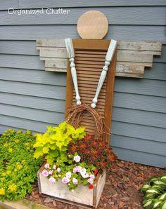 Ángel decoración para jardín
