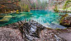 Blausee, Switzerland - Rock