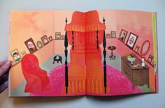 The Interior Decorating Guide For Girls - Illustrations by Laura Jean Allen