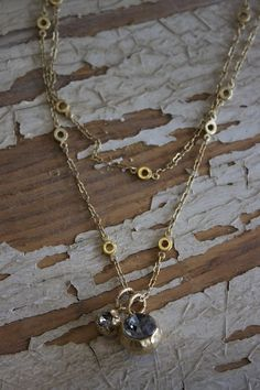 Rhinestone Ball Necklace - La Vie Parisienne