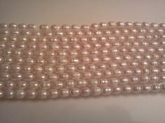 Cultured Freshwater Pearl Beads Creamy White Rice by PriorityBeads, $3.25