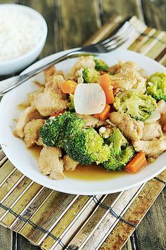 Chicken Stir-Fry -Edit- Delicious and easy, especially when you use frozen stir fry veggies.  I'll definitely make this again!
