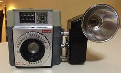 Kodak Brownie Starmeter with flash unit, 1960-65. Original cost $20.