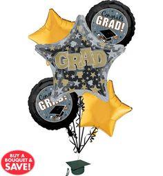 Black, Gold & Silver Graduation Party Supplies - Party City
