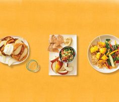 One week of meals packing the most potent-cancer fighting foods in tasty recipes (plus snacks!). via @Sara Eriksson Self Magazine