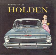 Poster/Artwork for EJ Holden Premier Sedan. Vintage Advertisements, Vintage Ads, Vintage Posters, Vintage Designs, Australian Vintage, Australian Cars, Ford Falcon, Car Illustration, Illustrations