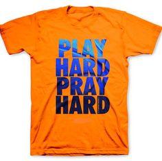 Play Hard Pray Hard T Shirt - Weekdaygirl Nails & Beauty
