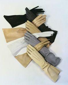 'Latest Gloves for Fall', by Erwin Blumenfeld for Vogue, September 1954.