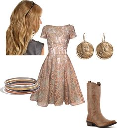 """""""Lace Country Dress"""" by lshahan on Polyvore"""