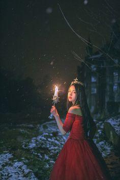Photo - Photos on the community comment panel - photos Princess Aesthetic, Aesthetic Girl, Aesthetic Vintage, Fantasy Photography, Girl Photography, Korean Girl, Asian Girl, Fantasy Dress, Ulzzang Girl