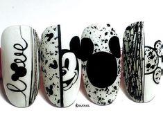 Visit our web site. Nail Art Designs Videos, Cute Nail Art Designs, Nail Art Videos, Nail Design, Web Design, Disney Acrylic Nails, Best Acrylic Nails, Disney Nails Art, Nail Art Hacks